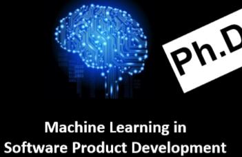 Gépi tanulás a szoftver termékfejlesztésben- Doktori témakiírás EIT Digital kiegészítő ösztöndíjjal