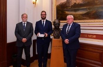 A Gábor Dénes Országos Tudományos Diákköri Ösztöndíjat  Nagy Gergely nyerte