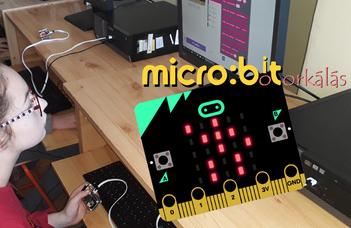 Felkerült a  micro:bit botorkálás program az Edison100 listájára