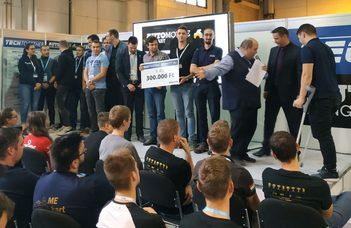 Szombathelyi Gépészek II. helyen a Techtogether országos mérnök versenyen
