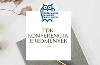TDK Konferencia eredmények, 2021 tavasz