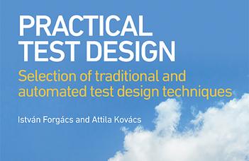 Kovács Attila Practical Test Design könyve megjelent a  British Computer Society-nál