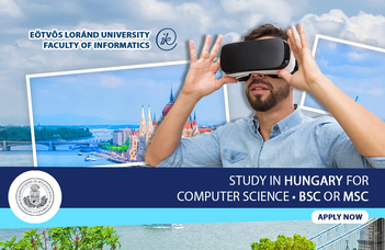 Study in Hungary for Computer Science Bsc, Msc degree
