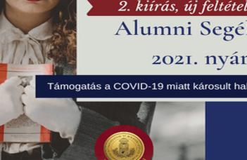 Ismét pályázható az Alumni Segély C
